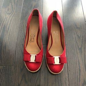 Salvatore Ferragamo wedges heels shoes